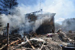 Tűz Budafokon – egy építés alatt álló száz négyzetméteres házban csaptak fel a lángok